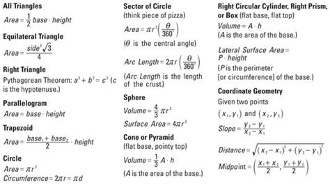 Spreadsheet Formulas For Dummies by Calculus Formulas Pre Cal Kid Chang E 3