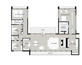 European House Plans One Story best 25 u shaped houses ideas on pinterest u shaped
