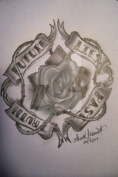 every rose has its thorn tattoo every has it s by grotesquedarling13 on deviantart