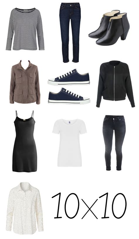 10 piece wardrobe outfits at least 10 pieces 10 outfits my capsule wardrobe