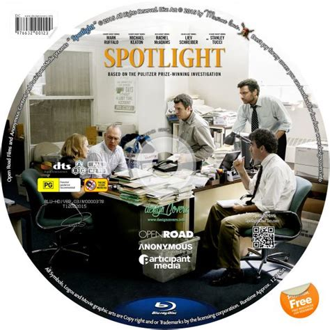 Spotlight Cover by Covers Box Sk Spotlight 2015 3d 4k Dvd