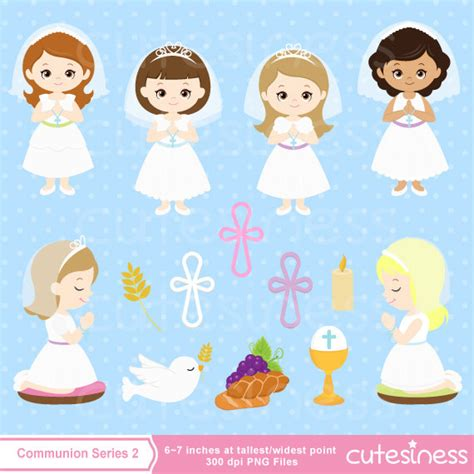 clipart prima comunione communion clipart communion digital clipart communion