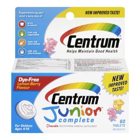 Diskon Nutrimax C Junior 60 Tablet Buy Centrum Jr In Canada Free Shipping Healthsnap Ca