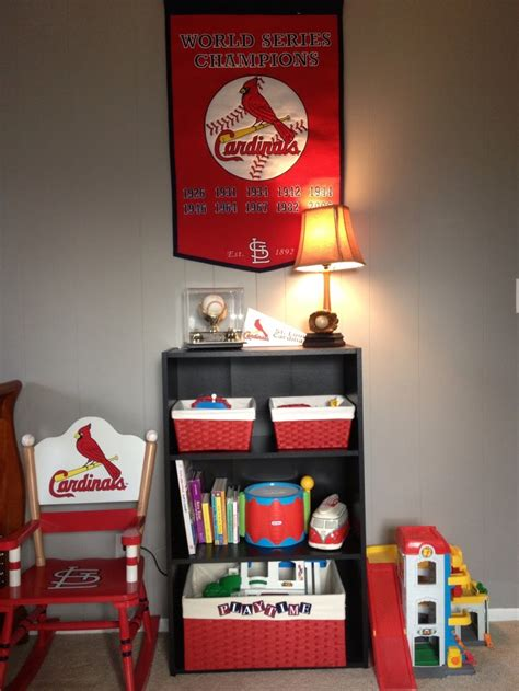 st louis cardinals bedroom st louis cardinal s kids room shane colin pinterest kids rooms room and babies