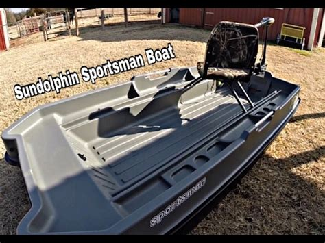 sportsman boats reviews sundolphin sportsman boat review youtube