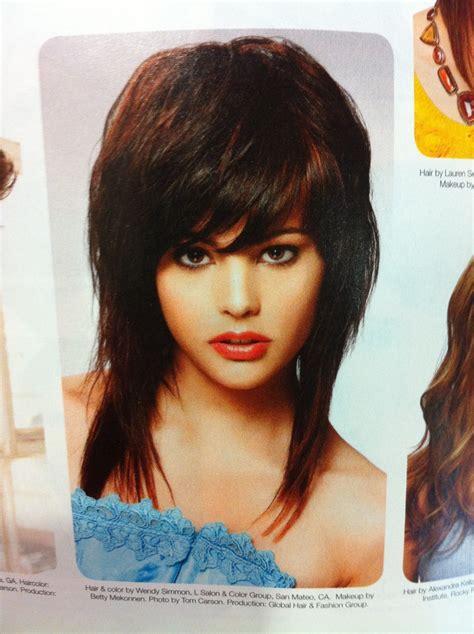 black hairstyles with a swoop bang swoop bangs black swoop bangs black hairstyles short