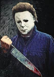 Duvet Cover Vs Duvet Michael Myers Digital Art By Taylan Apukovska