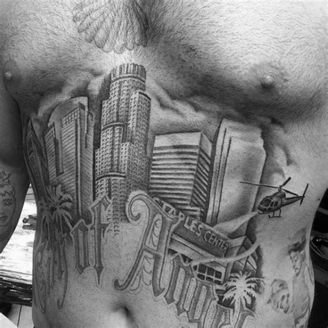 los angeles tattoos designs 90 building tattoos for architecture ink design ideas