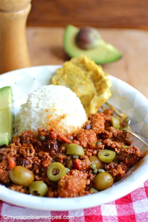 picadillo cubano cuban ground beef dish my - Ground Beef Dish Recipes