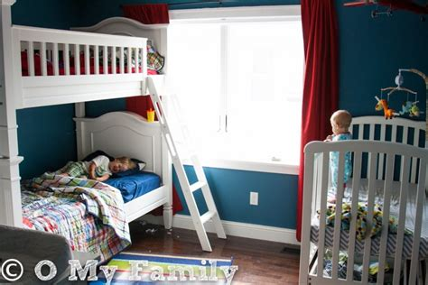 beds for 3 year olds three kids in one bedroom o my family this new mom s blog