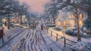 Christmas buckley moss thomas kinkade artleo com 14324 jpg 1366