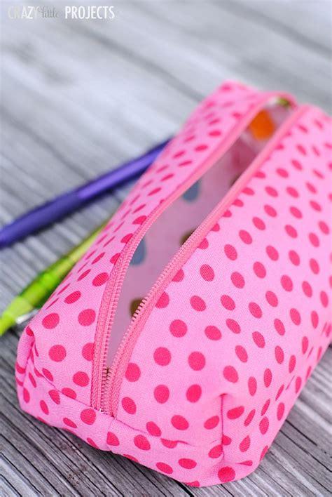 cara membuat zipper pencil case learn to sew how to sew a zipper pencil case tutorial