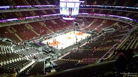 section 322 united center united center section 322 chicago bulls rateyourseats com