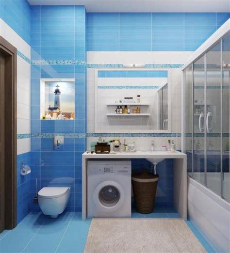 fascinating bathroom design  blue tones  bllue tile