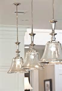 Pendant Lighting Over Kitchen Island Shine Your Light Diy Mercury Glass