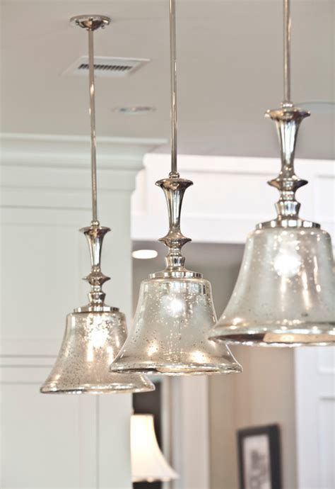 pendant light fixtures for kitchen island shine your light diy mercury glass