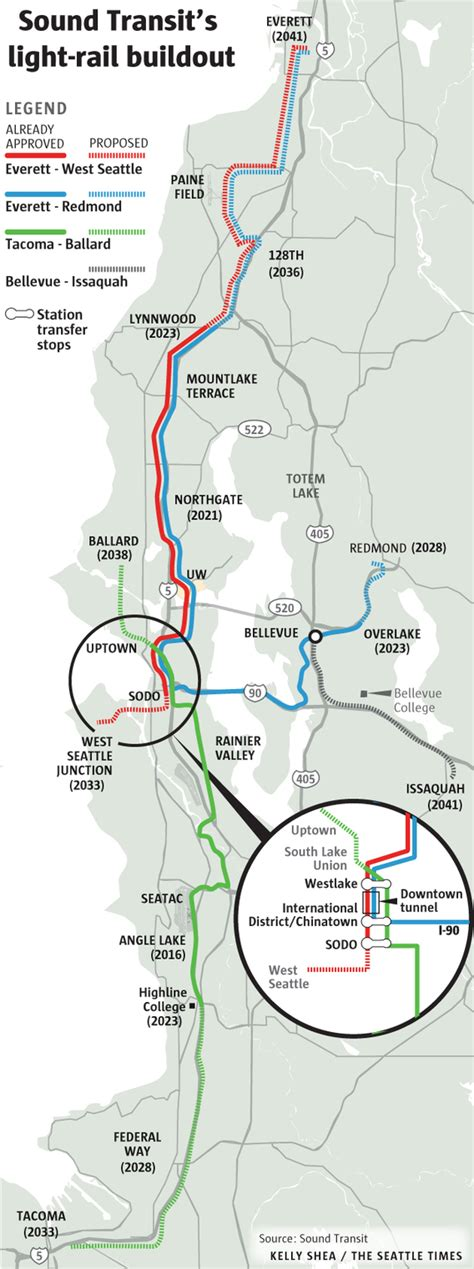seattle light rail route 50b sound transit proposal big taxes big spending big