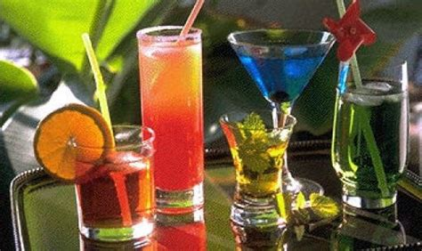 top 5 most alcoholic drinks