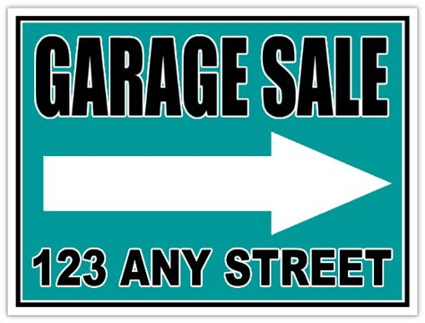 garage sale sign template garagesale107 garage sale sign templates
