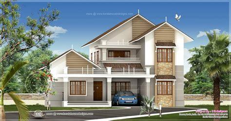 sloping roof villa dma homes