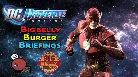 Big Belly Burger dc universe big belly burger briefings