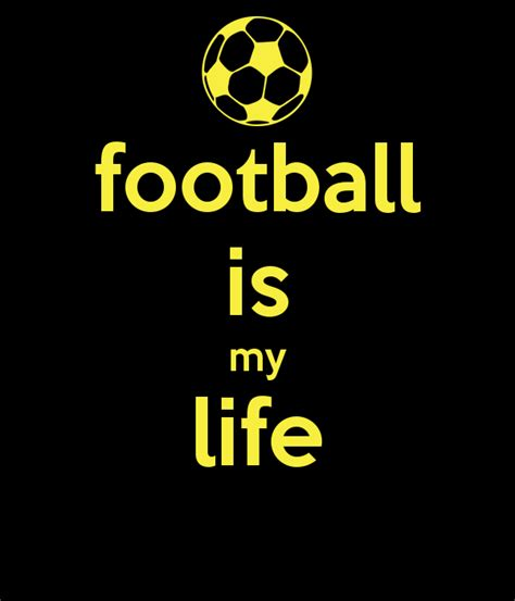 Football My football is my keep calm and carry on image generator