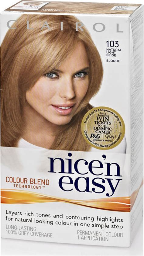 nice n easy color chart hairstylegalleries com nice n easy hair dye hairstylegalleries com