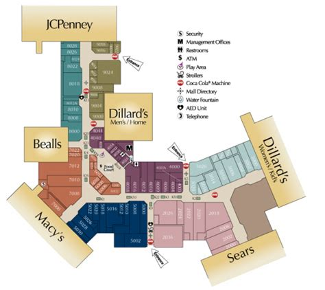 oak park mall map real estate analysis