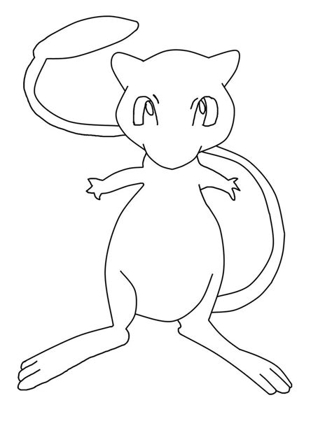 mew 2 coloring sheet coloring pages