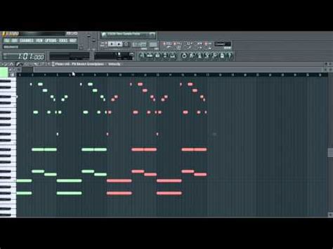 fl studio realistic piano melodies how to make a dancehall beat with fl studio 12 funnydog tv