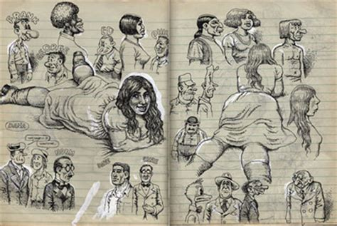 R Crumb Sketches by Index Of Scatt Sketchbooks