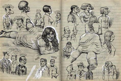 sketchbook for the artist links to artists sketchbooks page 2