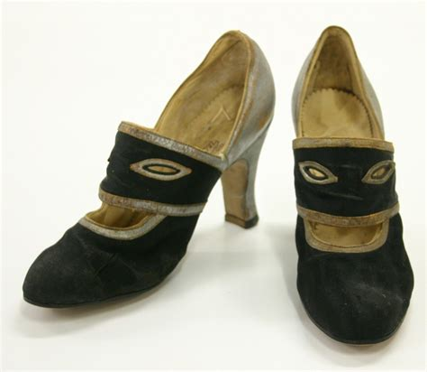 paragon shoes shoes paragon court black silver 1930s