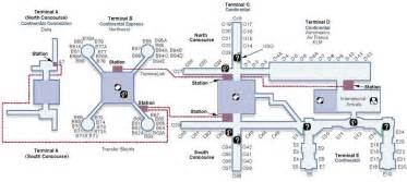 iah airport houston map