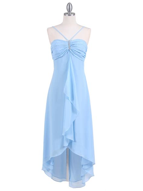baby blue baby dress baby blue evening dress with rhine pin sung