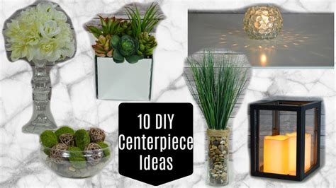 10 dollar tree diy centerpieces or home decor