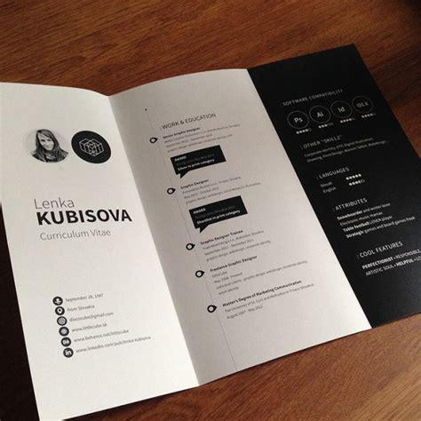 Cv Design by 39 Fantastically Creative Resume And Cv Exles