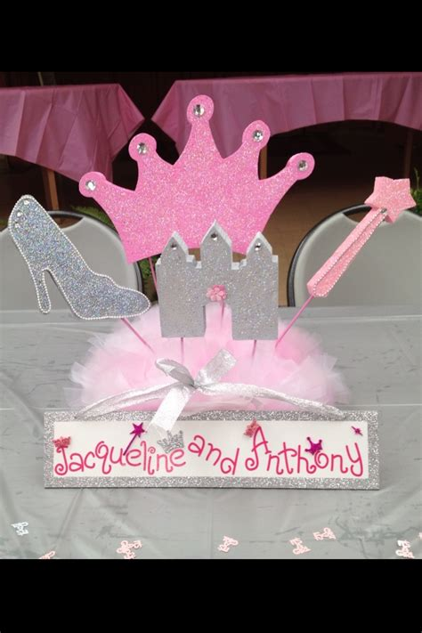 princess theme baby shower centerpieces princess themed baby shower centerpiece styrofoam