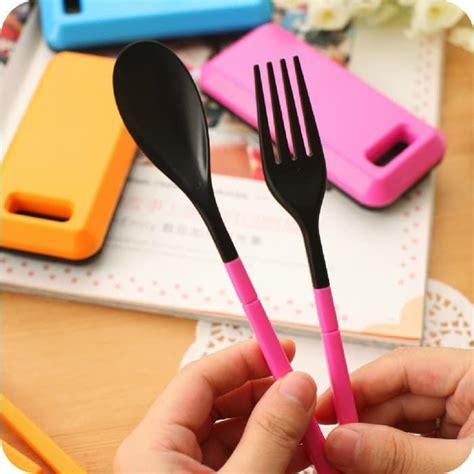 Sendok Garpu Lipat set alat makan lipat sendok garpu sumpit grosir cirebon