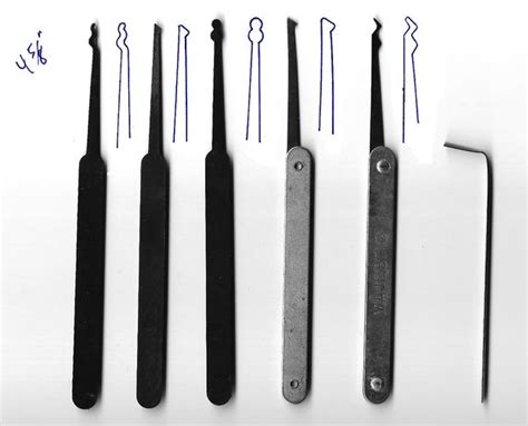 How To Make A Lockpick Out Of Paper - lock picking
