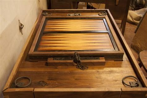 backgammon board woodworking plans rotating board a simple but unique solid wood chess