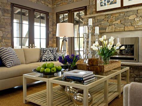 designer tips  styling  coffee table hgtv