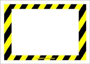 caution sign template caution sign template