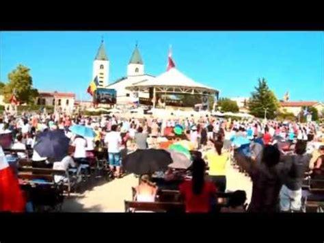 siamo la gente loda il signor testo medjugorje mladifest 2012 song siamo la gente loda il