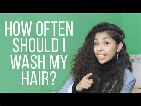 how often should you wash your hair slide 1 how often should you wash your hair youtube