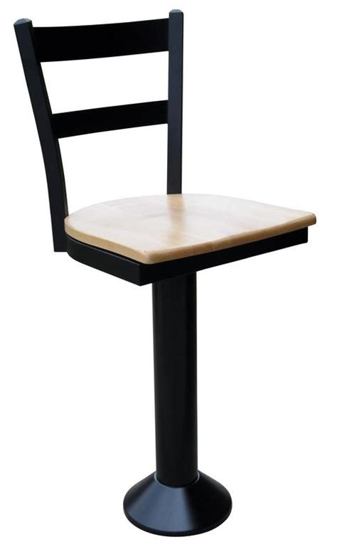 Floor Mounted Bar Stools With Back by Ladder Back Counter Stool Floor Mounted Bar Stool