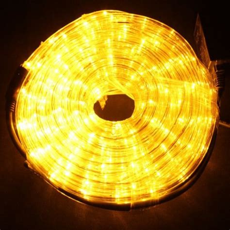 christmas shop online 10m led rope light 36v yellow