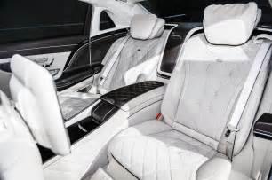 2016 mercedes maybach s600 rear interior seats photo 22
