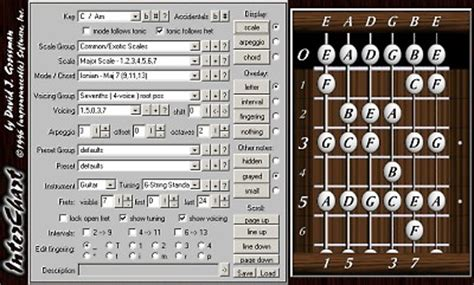guitar chord diagram maker guitar chord chart generator