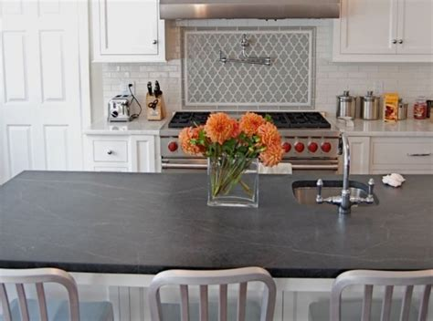 Black Soapstone Countertops